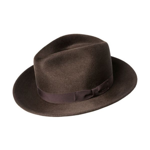 Men's Bailey of Hollywood Criss Wide Brim Hat 71001BH (6.775 RUB) ❤ liked on Polyvore featuring men's fashion, men's accessories, men's hats, brown, men's brimmed hats, mens fedora, mens wide brim fedora, mens hats and mens wide brim hats