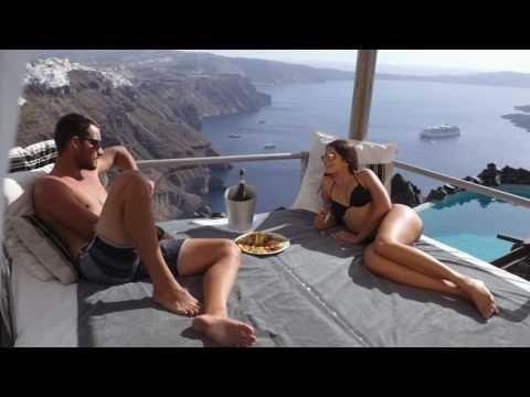 Honeymoon Petra Villas - 5* Santorini Luxury Hotel - Caldera View - YouTube