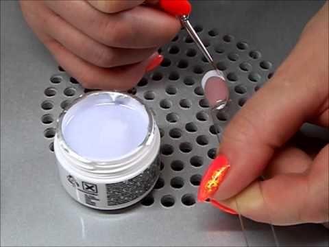 French Manicure - Set von Nails Factory und FairyDust - Pigment von Glitterwelten - http://www.nailtech6.com/french-manicure-set-von-nails-factory-und-fairydust-pigment-von-glitterwelten/