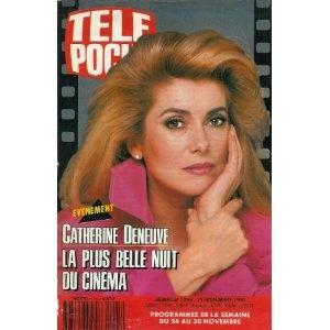 Catherine Deneuve : la plus belle nuit du cinéma, dans Télé Poche n°1293 du 19/11/1990 [couverture mise en vente par Presse-Mémoire]