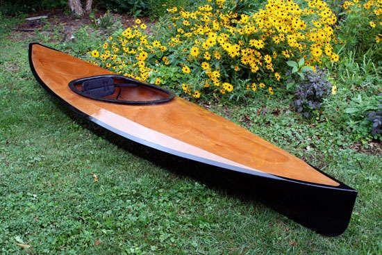 The Wood Duck 12 recreational wooden kayak