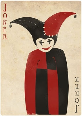Joker - Art playing cards designed by FELIX BLOMMESTIJN