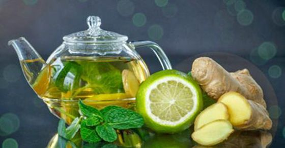 Belly bloat  1 lemon, daintily cut 2 liters water (around 8½ c) 1 cucumber, peeled and daintily cut 1 tsp naturally ground ginger 12 spearmint leaves