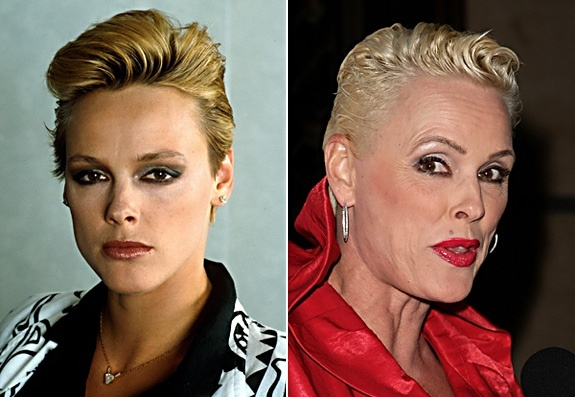 Danish actress Brigitte Nielsen used to turn the heads of big names such as Sylvester Stallone and NY Jets Mark Gastineau. But after years of battling substance abuse, and her televised plastic surgery on 'Celebrity Makeover: Brigitte Nielson,' she's no longer such a star magnet