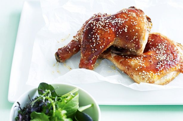 Here's the latest coop - a fresh-look chicken delight to please the cluckiest guest!