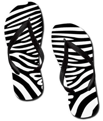 4d282dd1eff7 Ladies zebra print flip flops fashion style shoes sundries zebra print flip  flops sock shoes jpg