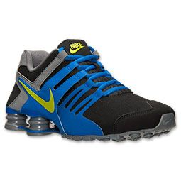 Men's Nike Shox Current Running Shoes | Finish Line | Black/Hyper  Cobalt/Cool