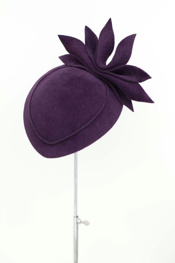 Cocktail Hat Fascinator Weddings and Races by MaggieMowbrayHats
