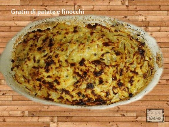 Gratin di patate e finocchi, un contorno di verdure davvero semplice da preparare!