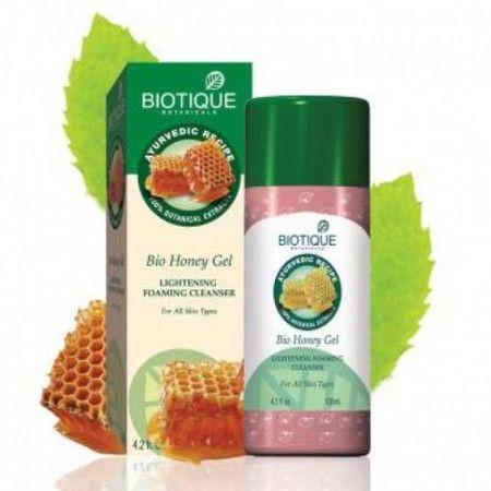 Очищающий гель-пенка для умывания Био Медовый гель (Bio Honey Gel), Biotique 180 Р.  http://store.ptarh.com/products/bio_honey_gel
