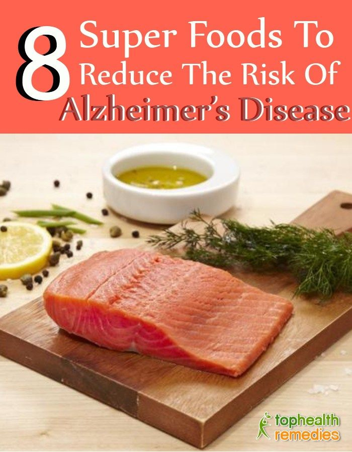 8 Super Foods To Reduce The Risk Of Alzheimer's Disease