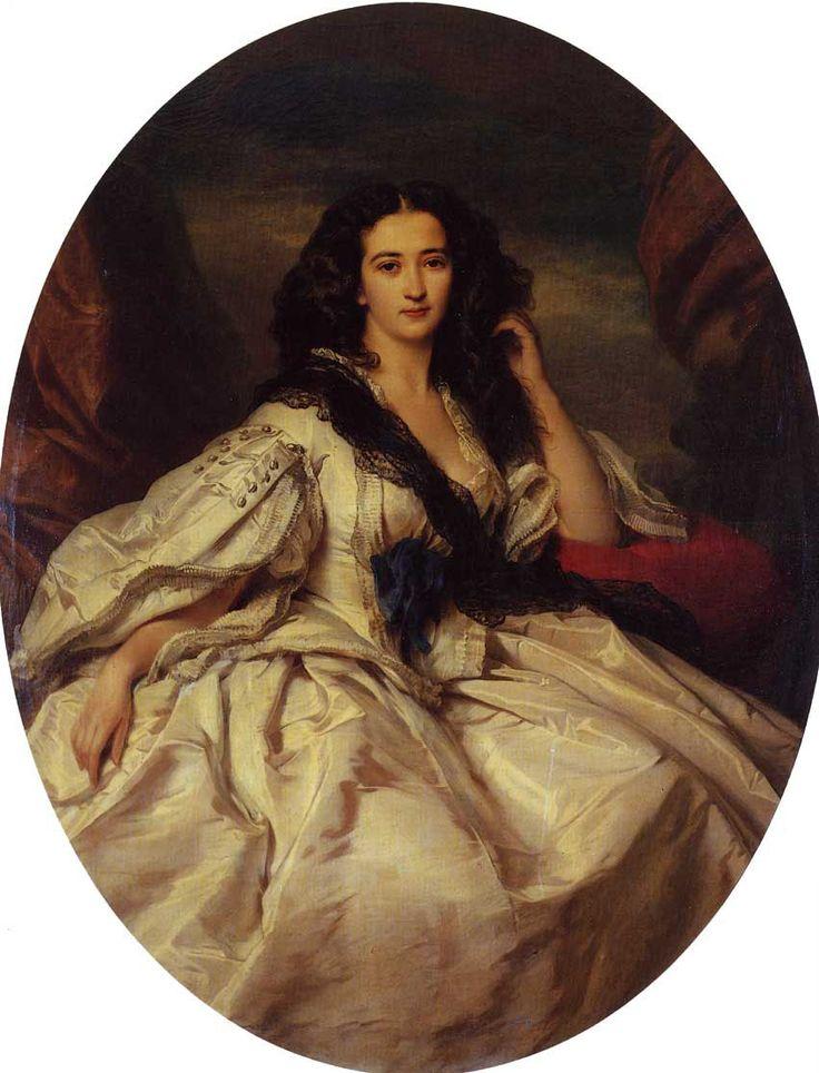 Wienczyslawa Barczewska, Madame de Jurjewicz, Franz Xavier Winterhalter
