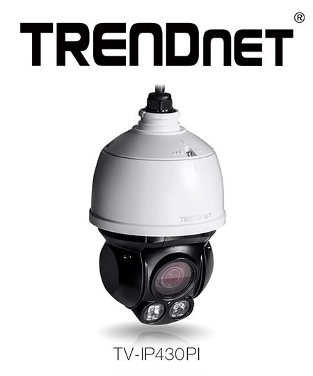 TRENDnet® Demonstrates a Compact Two Megapixel Endless PTZ Camera