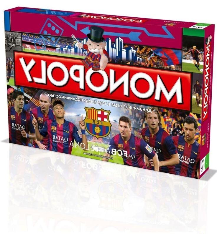 Hasbro Hasbro, Настольная игра Монополия Фк Барселона