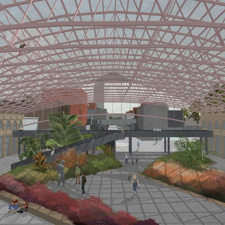"Universidad Nacional de las Artes de Montevideo  More than thirteen years ago the building of ""Estacion Central General Artigas"" closed his doors to the community of Montevideo, the capital of Uruguay, with the idea that a new urbanistic plan, cal..."