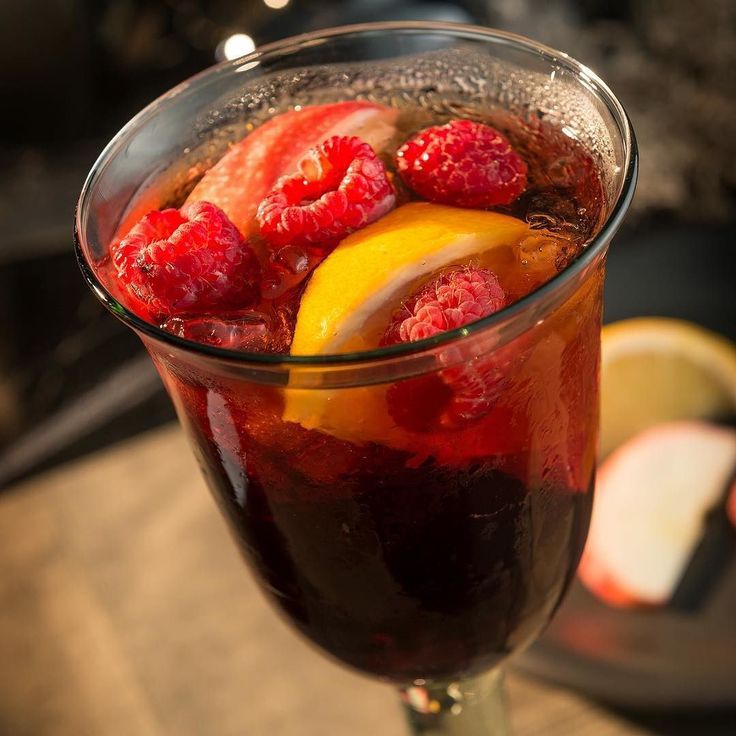 Love sangria? Here's a made-to-order Harvest Sangria recipe to mix up and welcome in the cooler weather.  To make this cocktail you will need:  2 oz. Eguren Tierra Castilla Tempranillo  1 oz. Largo Bay Silver Rum  1 oz. Drillaud Liqueur Framboise  apples oranges and raspberries  Add Eguren Tierra Castilla Tempranillo Largo Bay Silver Rum and Drillaud Liqueur Framboise into a cocktail shaker filled with ice. Shake until well chilled. Strain into a wine glass and garnish with apples oranges…