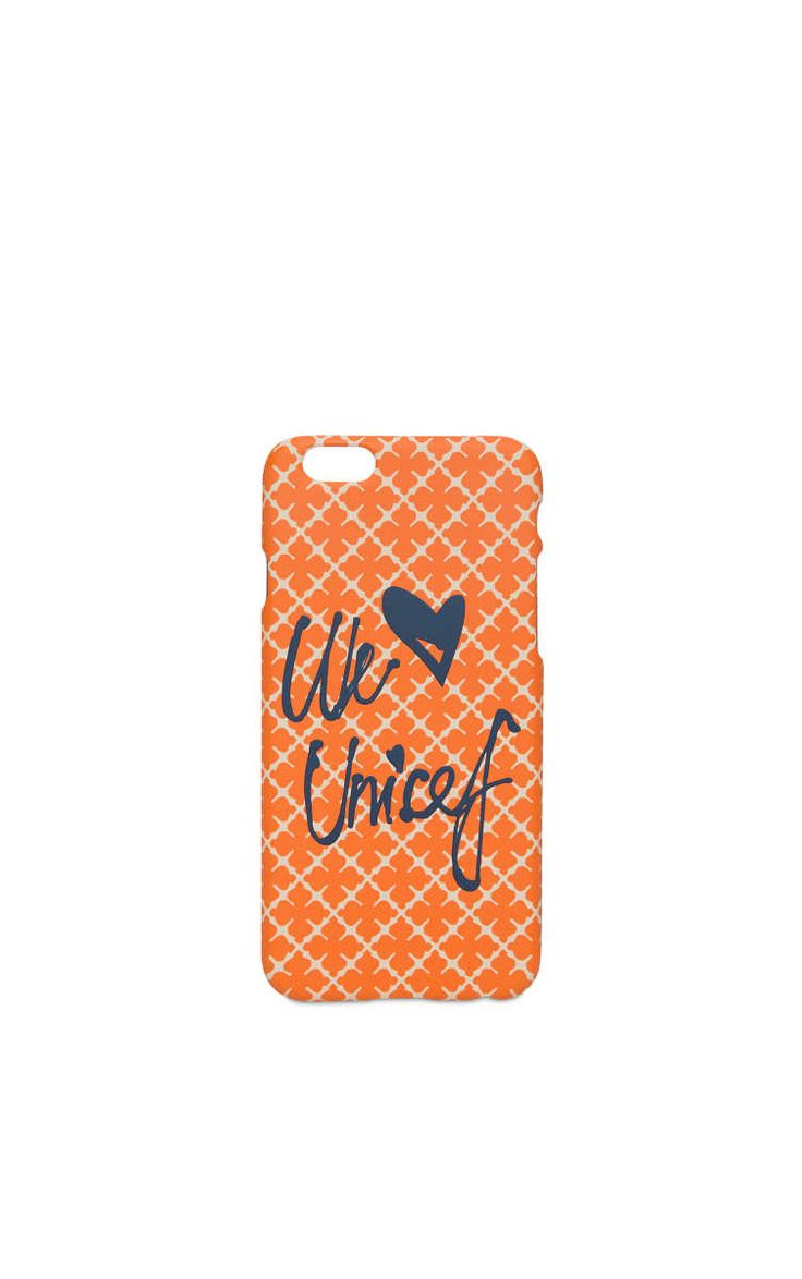 Phone Case - iPhone 6 Pamsy Unicef ORANGE - By Malene Birger - Designers - Raglady