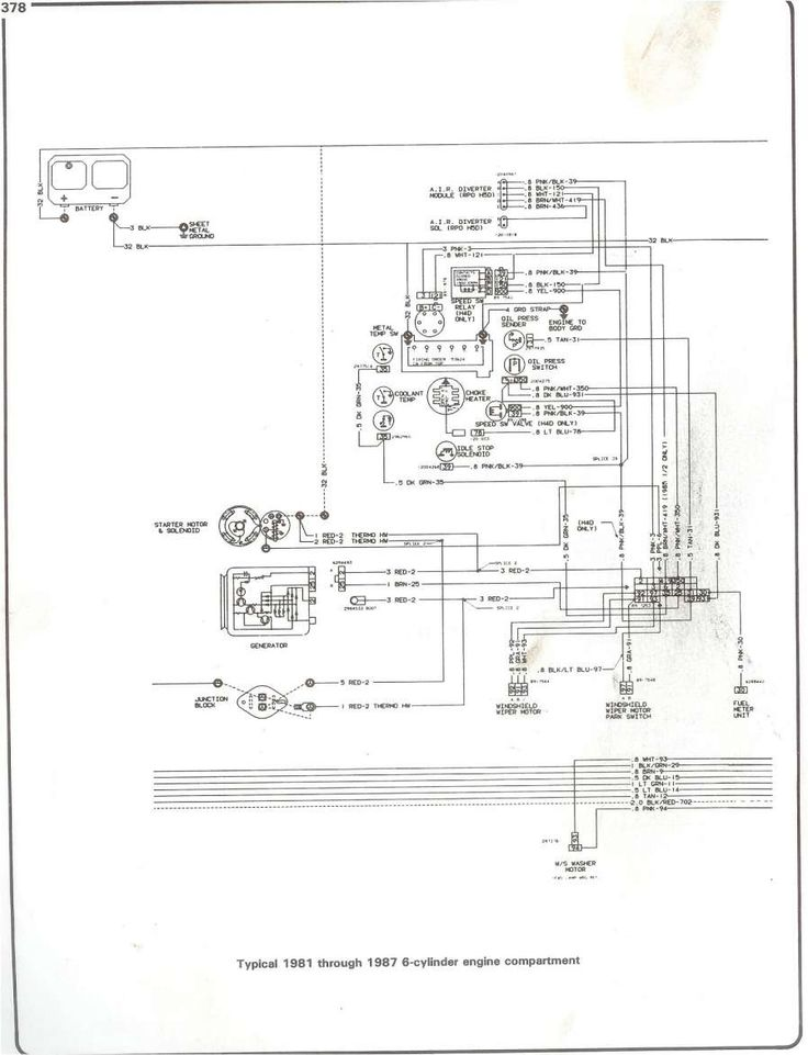 1984 Chevy Truck Electrical Wiring Diagram And S Fuse Box