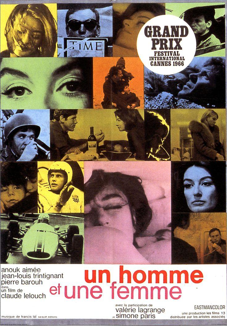 45 years of Un homme et une femme.  Love.