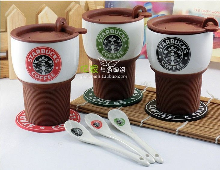 Creativa Starbucks Bone China Oficina Taza de café del Té de la leche