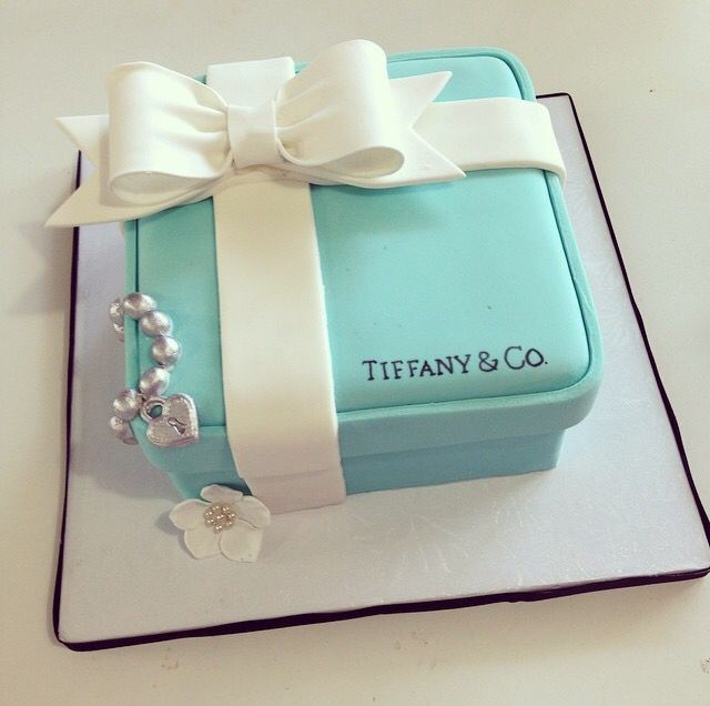 Tiffany Themed Party For Keira S 18th Birthday: 17 Best Images About Tiffany Blue Cakes On Pinterest