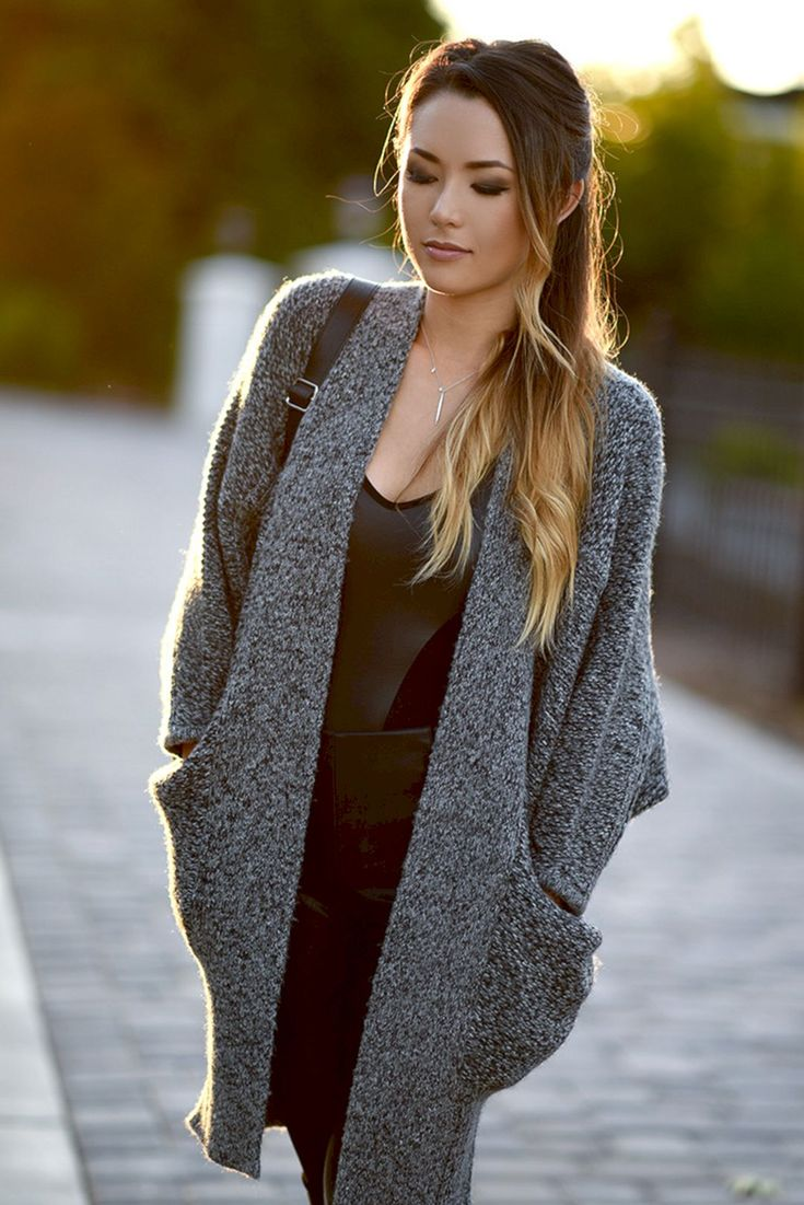 Adorable 45+ Most Popular Long Cardigan Sweater Outfits Ideas https://www.tukuoke.com/45-most-popular-long-cardigan-sweater-outfits-ideas-9762