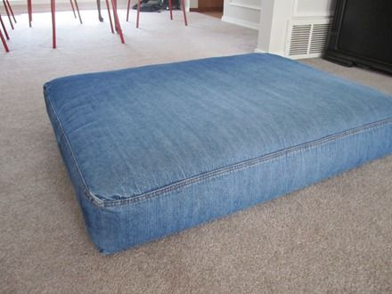 Boxed Cushion Cover Redoing Upholstery