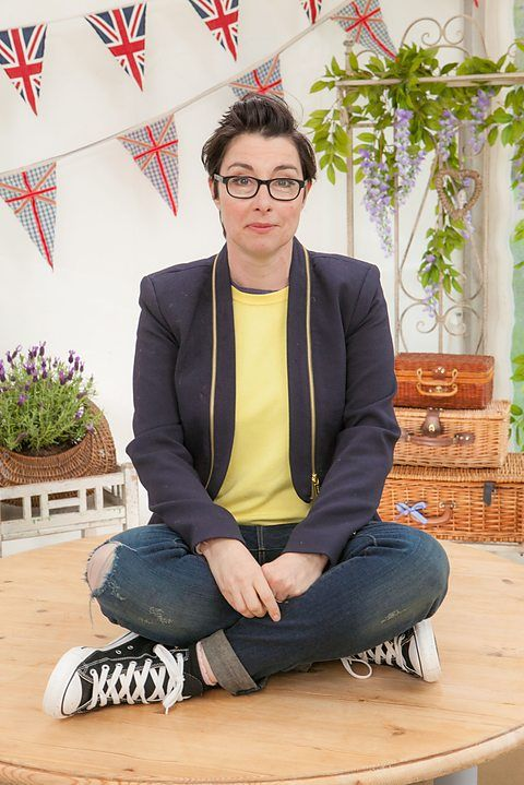 Sue Perkins ~ GBBO presenter profile | via BBC.co.uk
