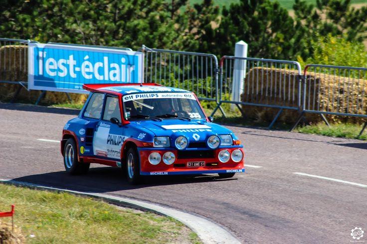 #Renault #5 #Turbo #Tour_de_Corse à la Montée Historique de #Montgueux Article original : http://newsdanciennes.com/2015/08/30/grand-format-course-de-cote-et-montee-historique-de-montgueux/ #Classic_Cars #Vintage #Racing #Voiture #Ancienne