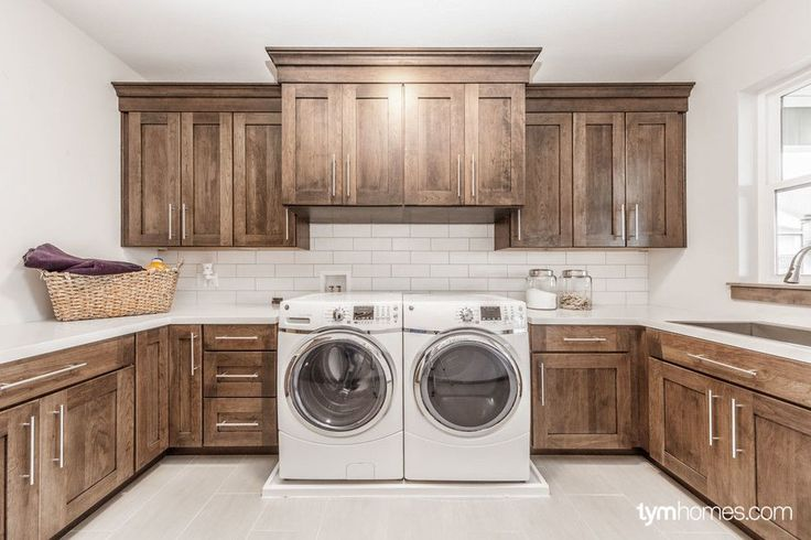 "Wardcraft Homes for a  Laundry Room with a Luxury Home and ""Home for the Holidays"", 2015 Utah Valley Parade of Homes by Handcrafted Homes by TYM Smart Homes & Home Theaters"