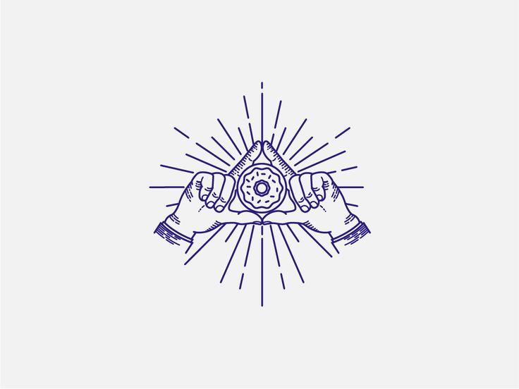 The Secret Donut Society branding illustration by José Velázquez + Ceci Peralta