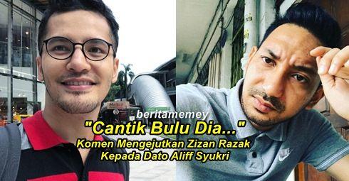 """Cantik Bulu Dia..."" - Komen Mengejutkan Zizan Razak Kepada Dato Aliff Syukri http://ift.tt/2t7L8De"