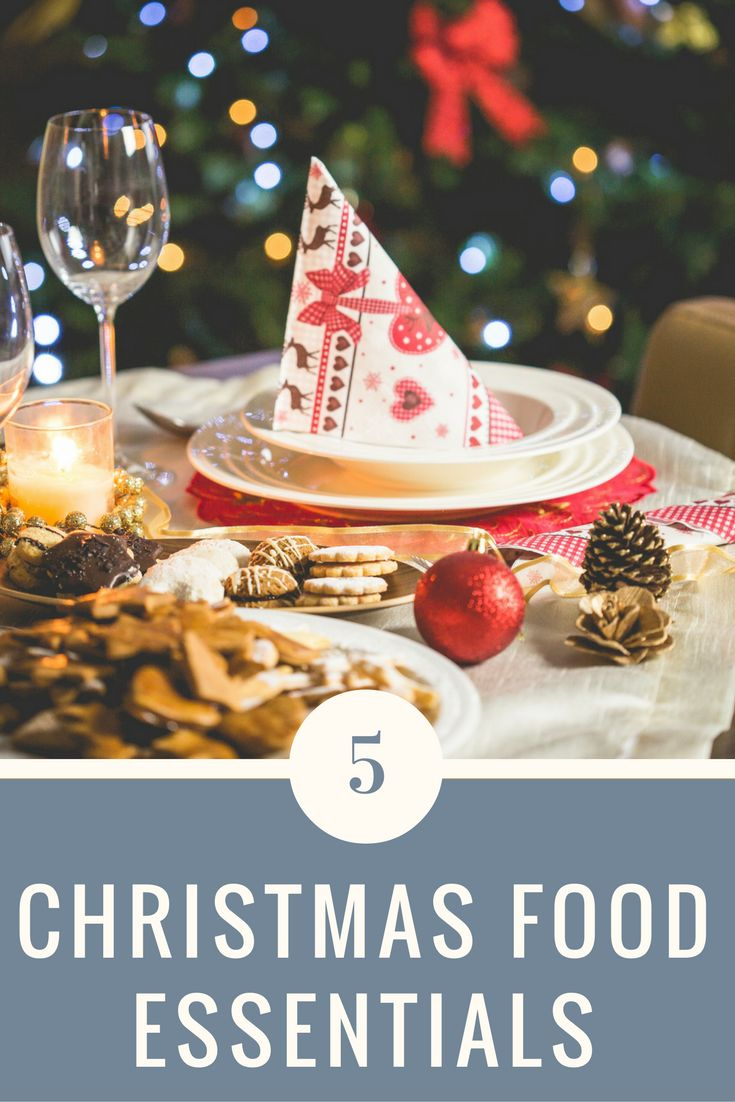 Time to start preparing that delicious food for your Christmas celebrations. Check out these essentials on Life Unexpected.
