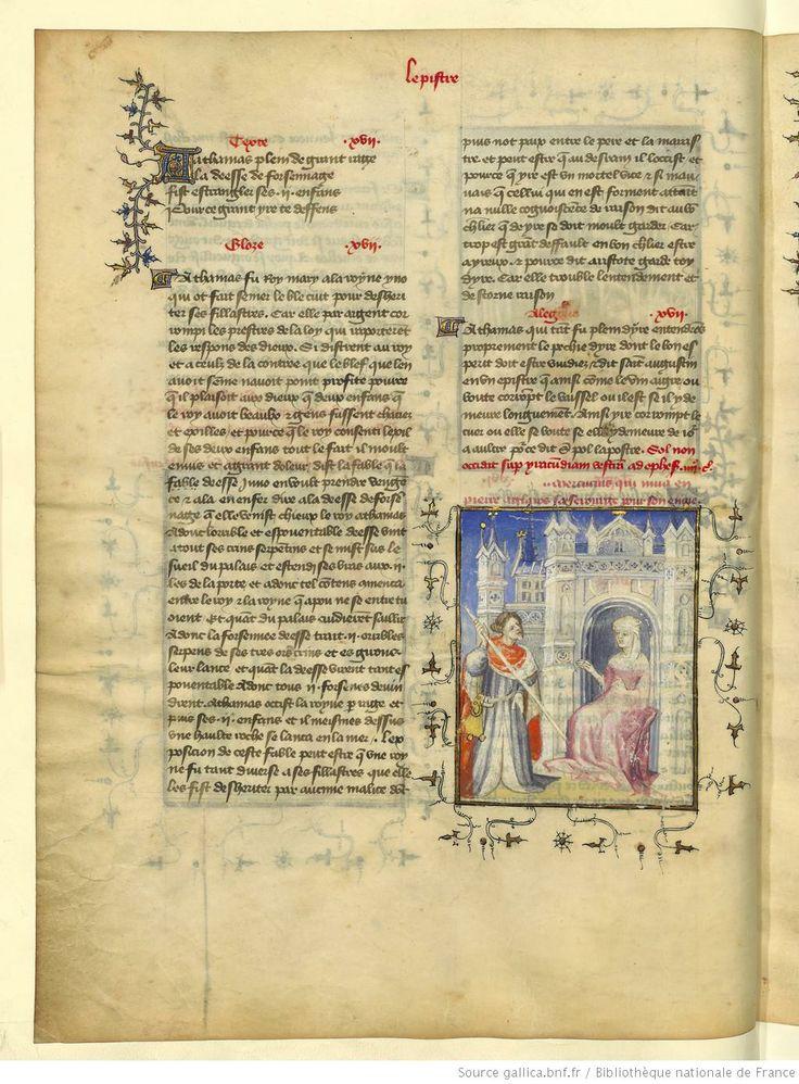 L'Epistre Othea à Hector, fol 10v