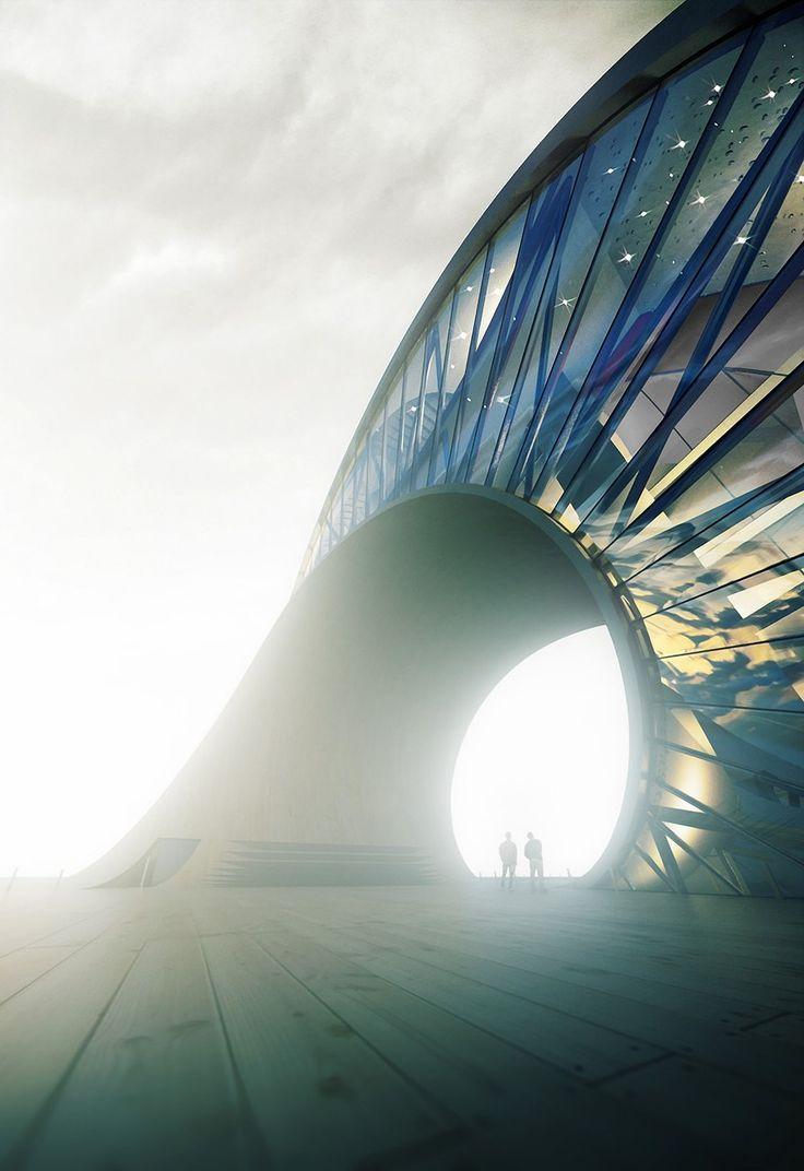 10 breathtaking photos of Unbuilt Architecture - AmbiensVR