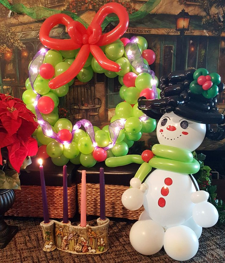 25+ Unique Christmas Balloons Ideas On Pinterest