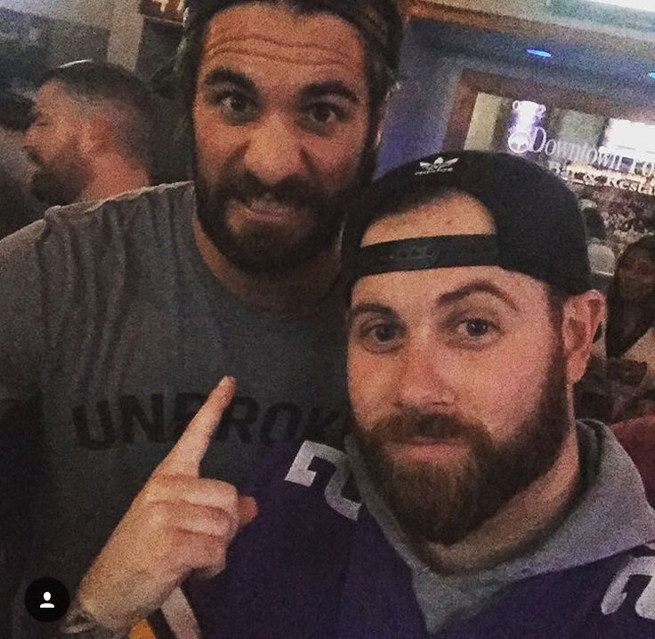 WWE's Seth Rollins and A Day to Remember's Kevin Skaff