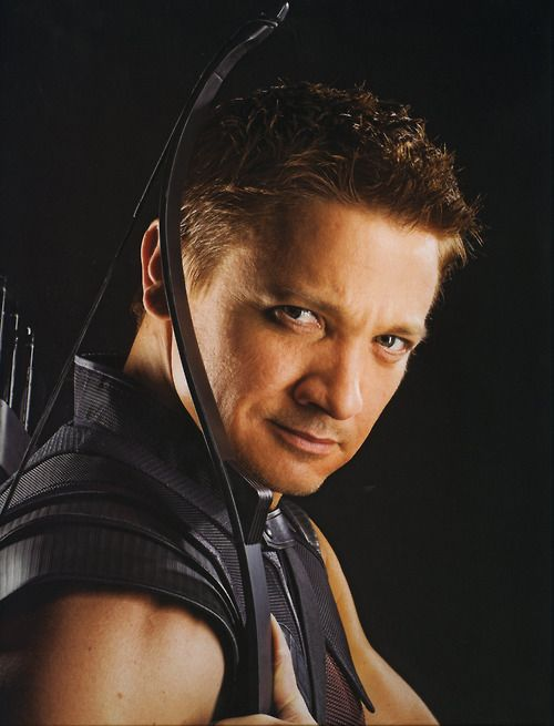 Jeremy Renner as #Hawkeye/Clint Barton #Marvel #Avengers