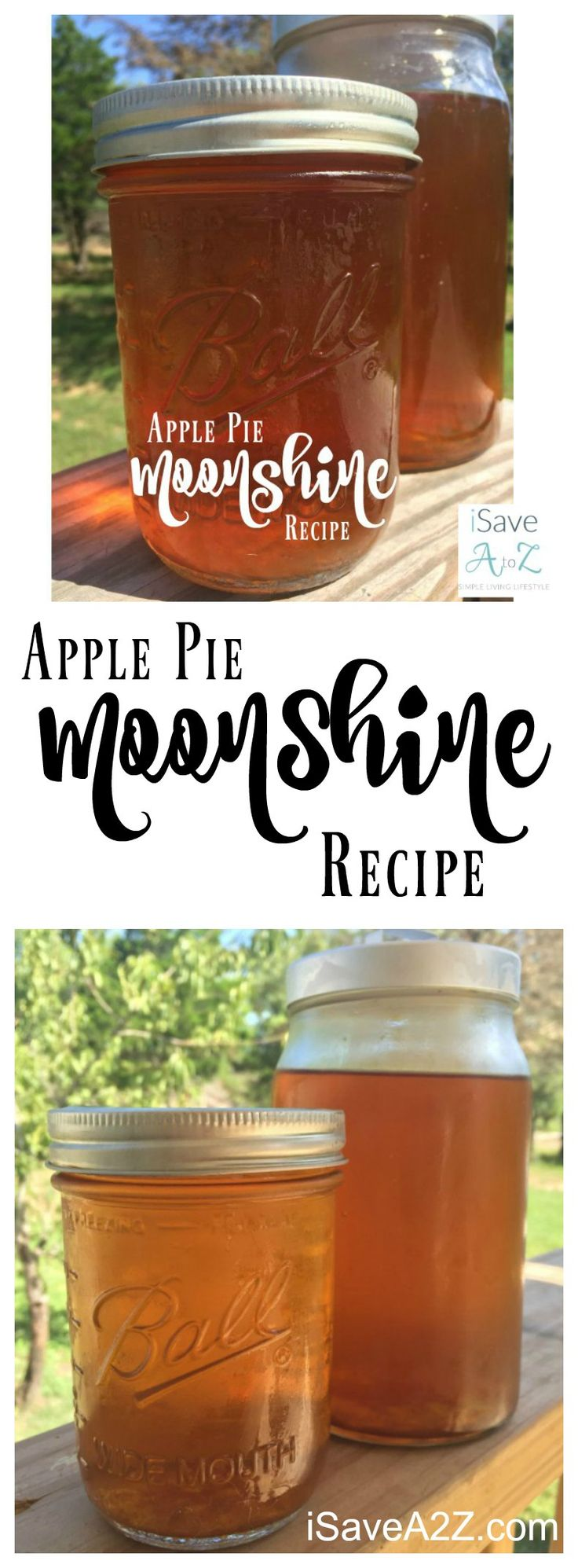 I know exactly why this recipe is so popular now!  YUMMY! Apple Pie Moonshine Recipe - iSaveA2Z.com