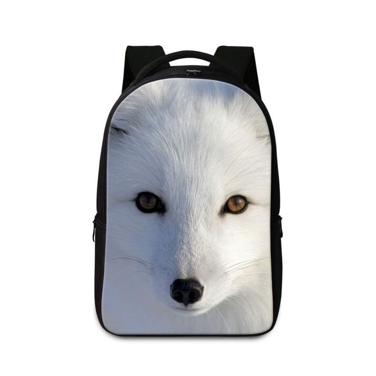 2017 Cool Fox Laptop Backpacks for Teen Girls Personalized School Bags for Boys Mens stylish Back Pack Animal Daypacks for girls