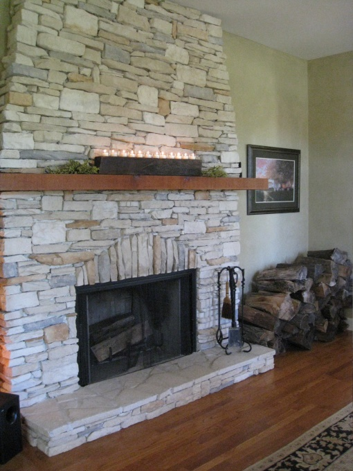 Fireplace Shelf Idea Mantle Pinterest