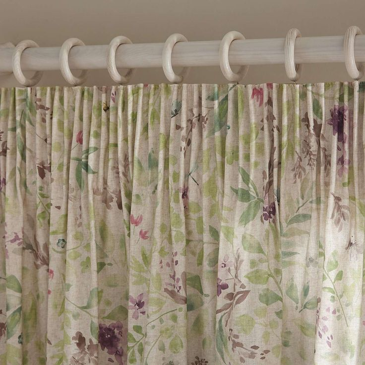 Wisley Lined Pencil Pleat Curtains | Dunelm