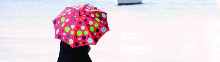 For those in Australia today. Gina & May Umbrellas #raining #Umbrella