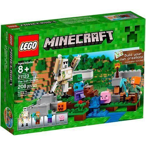 Lego Minecraft - O Golem de Ferro