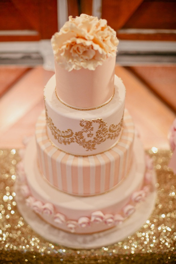 pink and gold wedding cake the 19 best images about pink amp gold cakes on 18539