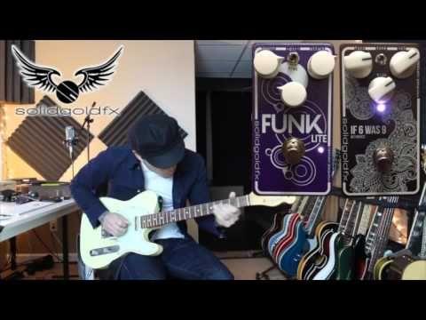 SolidGoldFX Funk-lite Demo Feat. RJ Ronquillo