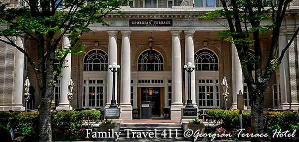 Georgian Terrace Hotel - right for your family? Details http://www.familytravel411.com/411-atlanta-with-kids/