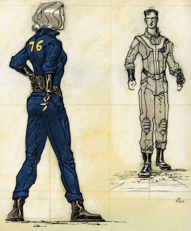 Vault jumpsuit - The Fallout wiki - Fallout: New Vegas and more
