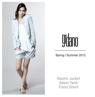 Spring, blazer, seersucker, shorts, chic, sophisticated, gr.dano