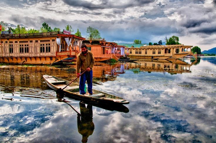 Nigeen Lake - Srinagar, Kashmir, India